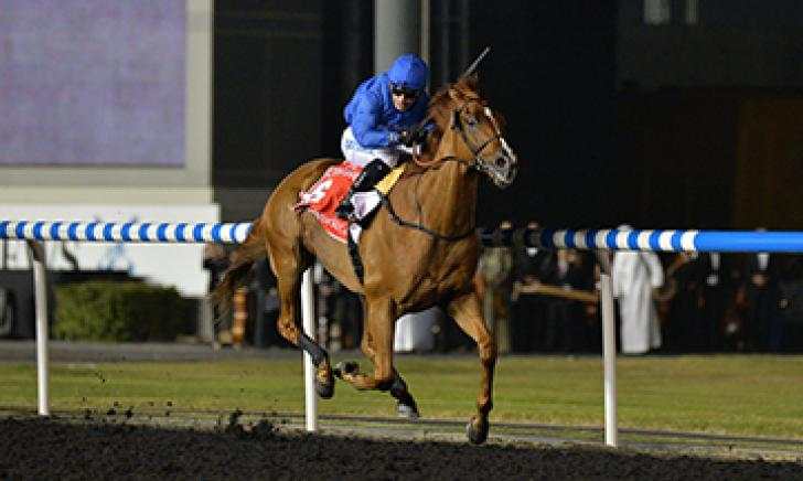 African Story powers clear of his rivals to land the Dubai World Cup