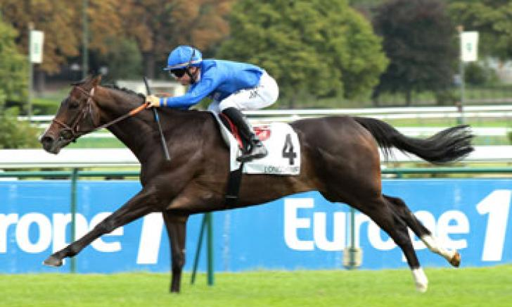 Fractional winning the Prix du Pont au Change at Longchamp