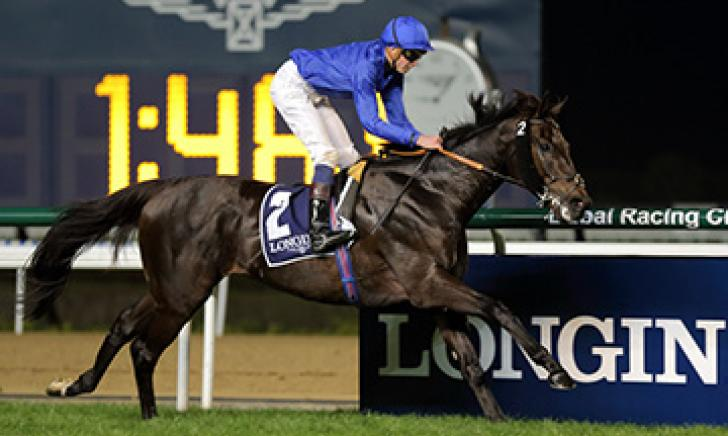 True Story wins the Listed Singspiel Stakes at Meydan