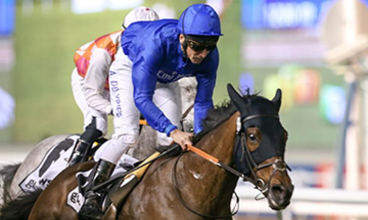 Al Saham gets up in tight finish at Meydan