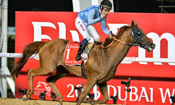 Prince Bishop takes the glory in the G1 Dubai World Cup