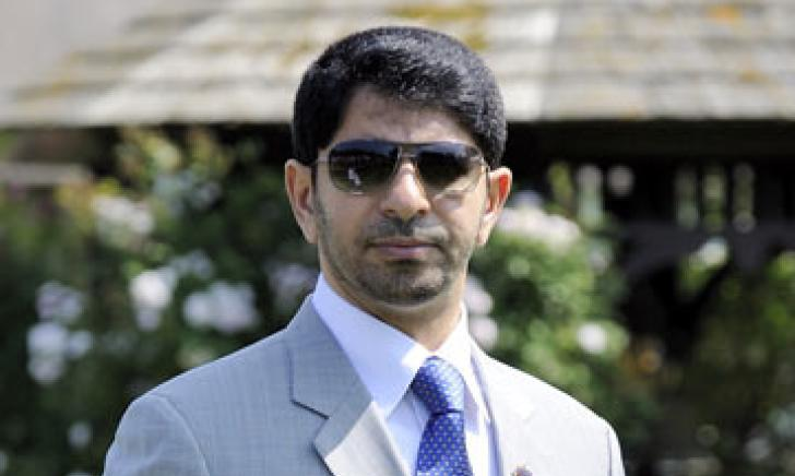 Saeed bin Suroor at Newmarket's July course