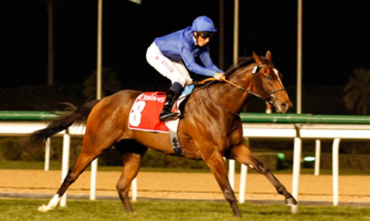 TRYSTER wins at Meydan